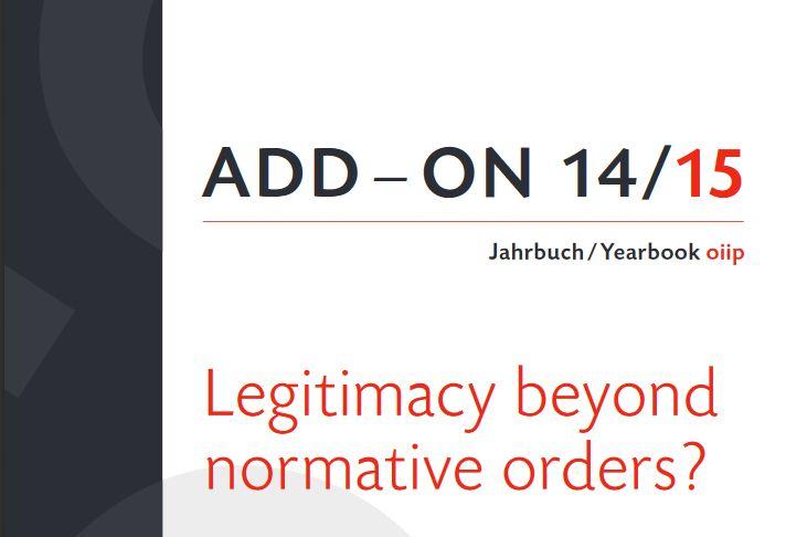 Legitimacy Beyond Normative Orders?