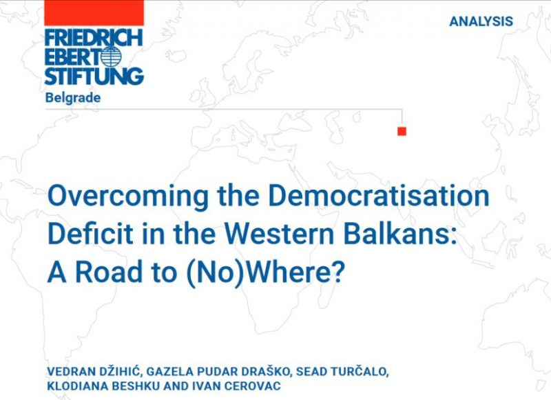 Overcoming the Democratisation Deficit in the Western Balkans: A Road to (No)Where?
