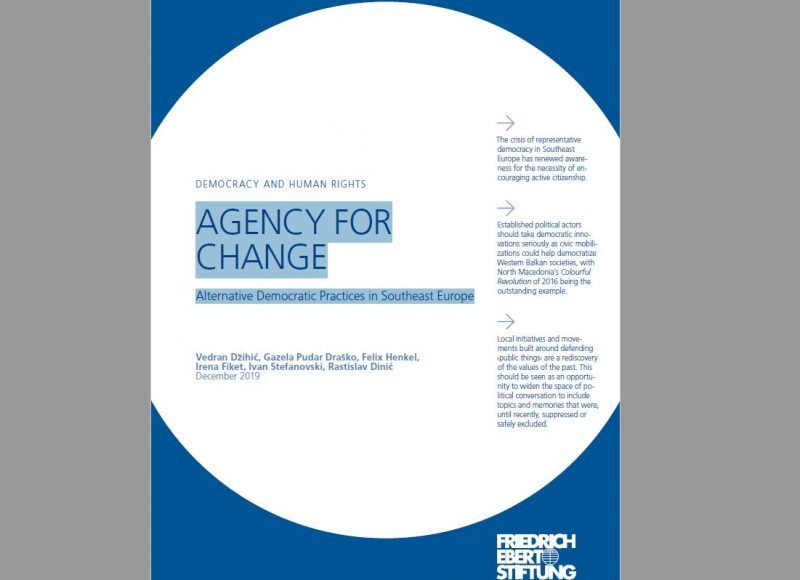 Democracy and human rights agency for change: Alternative Democratic Practices in Southeast Europe