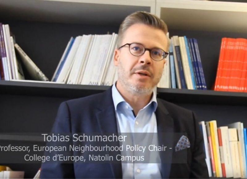 Tobias Schumacher about the the future of the European neighbourhood policy